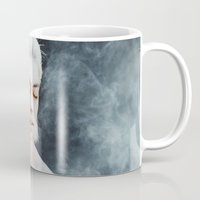 illusion Mugs featuring Illusion by Jovana Rikalo