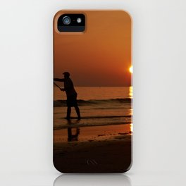 Gower Fishing iPhone Case