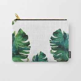 tropical Leaves NEW||| Carry-All Pouch
