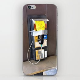 Where have all the pay phones gone? #2 iPhone Skin