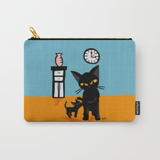 With a little boy Carry-All Pouch