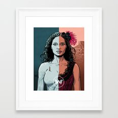 WEST 3 Framed Art Print