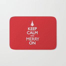 Keep Calm Bath Mat