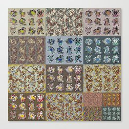 Chasoffart-Zodiac-p Canvas Print