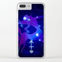 LaFemme Sagitarius Clear iPhone Case