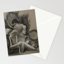 Of Silver and Sea Stationery Cards