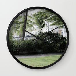 The Redcliff Square Gardens in London Wall Clock