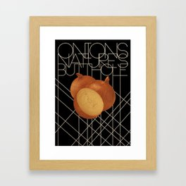 Nature's Butthole Framed Art Print