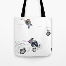 flight 1726 Tote Bag