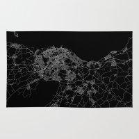 edinburgh Area & Throw Rugs featuring Edinburgh by Line Line Lines