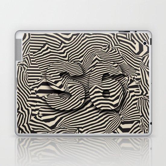 striated Laptop & iPad Skin