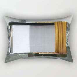 Untitled / Paper collage / 2015 Rectangular Pillow