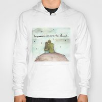 happiness Hoodies featuring Happiness  by Maria Durgarian