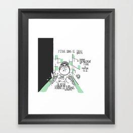 Souvenirs - Bathtub Framed Art Print