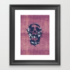 Death in Parts Framed Art Print