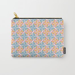 Peace is a Puzzle Print - White Ground Carry-All Pouch