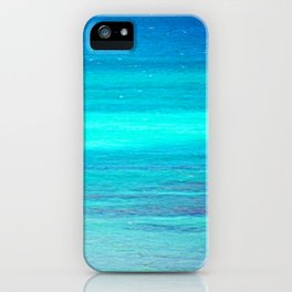 The Turquoise Sea iPhone Case
