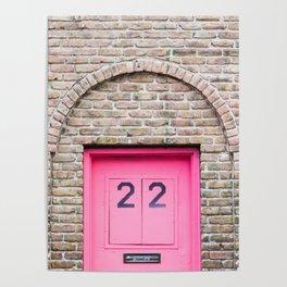 Door Number 22 Poster