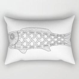 KOINOBORI w/b Rectangular Pillow