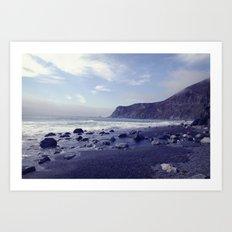 coastal dream Art Print