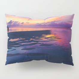 Maldivian sunset 5 Pillow Sham