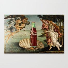 The Birth of Cola Canvas Print