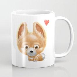 Super cute baby fox kawaii perfect for all animal lovers! Coffee Mug