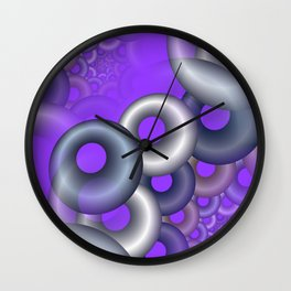 3D abstraction -12- Wall Clock