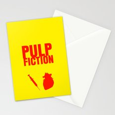 Pulp Fiction Movie Poster Stationery Cards