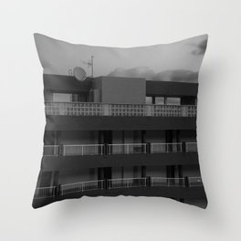 Evening in Tenerife Throw Pillow
