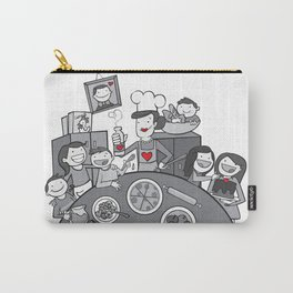 Chaotic Love Carry-All Pouch