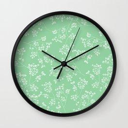 Gisophila emerald Wall Clock