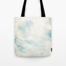 Somewhere | Beautiful Fluffy Clouds  Tote Bag