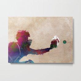 Baseball player 4 #baseball #sport Metal Print