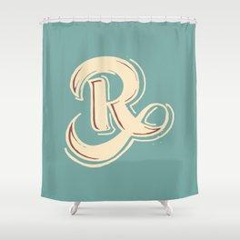 R Shower Curtain