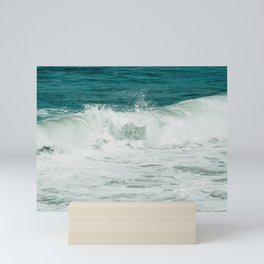 The wave Mini Art Print
