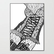 La femme n.5 Canvas Print