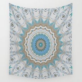 Dreamcatcher Teal Wall Tapestry