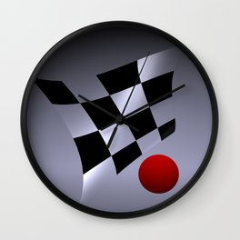 bicubic waves -3- Wall Clock