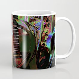 The Magic of Guitar Waves Coffee Mug