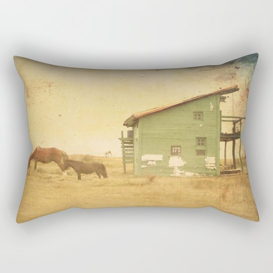 VINTAGE CABO POLONIO HOUSE Rectangular Pillow