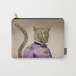 Grand Viceroy Leopold Leopard Carry-All Pouch