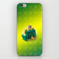 sofa iPhone & iPod Skins featuring Family sofa by Bakal Evgeny