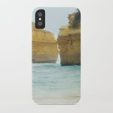 On a Collision Course iPhone X Slim Case