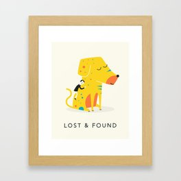 LOST AND FOUND (2) Framed Art Print