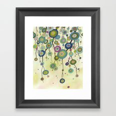 In Monet's Garden Framed Art Print