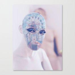 Wonder wheel portrait Canvas Print