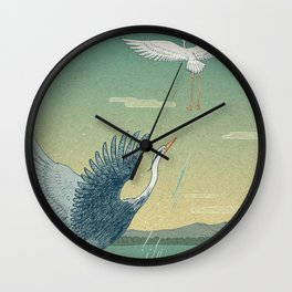 Herons Wall Clock