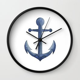 Anchor's Away Wall Clock