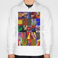 mosaic Hoodies featuring mosaic by donphil